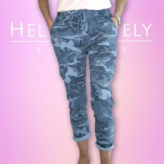 Cropped Camo Magic Trouser