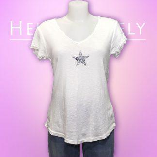glitter star T shirt