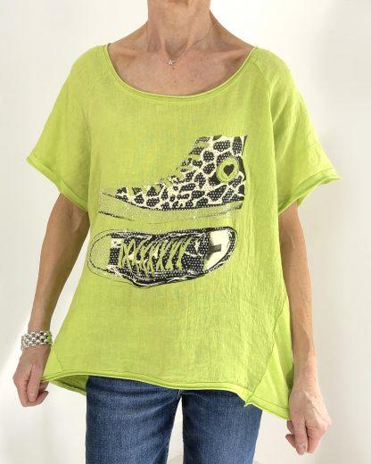 sparkle trainer T shirt