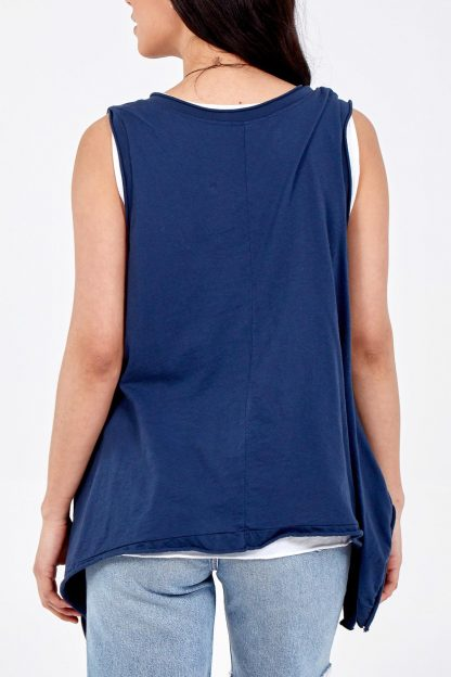 sleeveless two piece