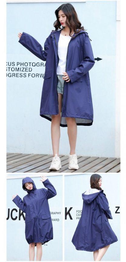 raincoat in a bag