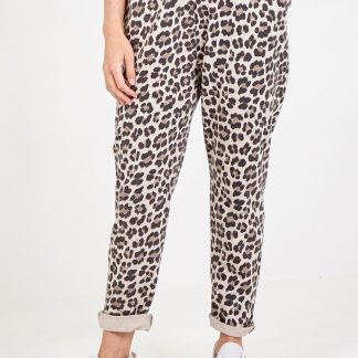 leopard jogger 4 pocket