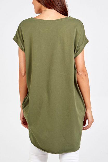 plain pocket top