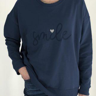 smile sweatshirt
