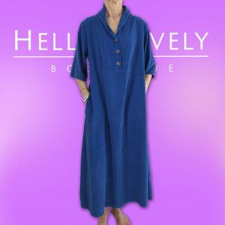 needlecord dress
