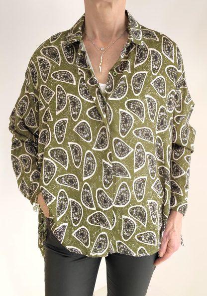 paisley type shirt
