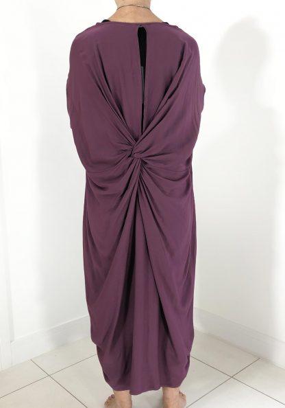 twist back dress
