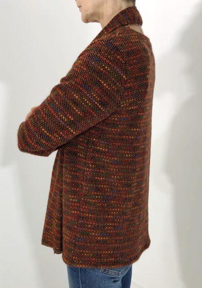Fleck scarf jumper