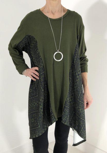 panelled tunic