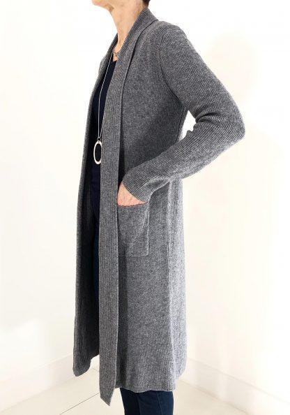 long line cardigan